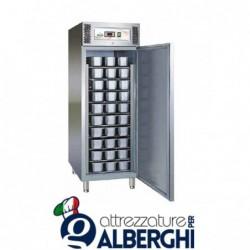 Armadio refrigerato congelatore per Gealto vaschette n.54 Refrig. ventilata -10°/-22°C