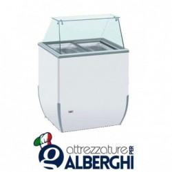 Banco vetrina per gelato mantecato BRIO 780 x 640 x 1181 mm (l x p x h)