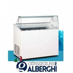 Banco vetrina per gelato mantecato Top 6 1200 x 673 x 1175 mm