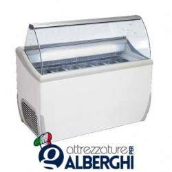 Banco vetrina per gelato mantecato J Extra 7 1341 x 723 x 1253 mm