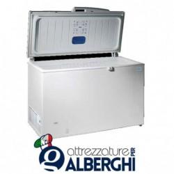 Congelatore conservatore orizzontale -18/-25°C coperchio cieco dimensione 891 x 695 x 860 mm