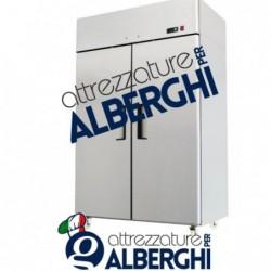 Armadio refrigerato frigo acciaio inox 1300 Lt. TN -2°/+8°C