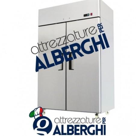 Armadio refrigerato congelatore  acciaio inox 1300 Lt. BT -18°/-22°C