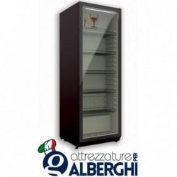 Vetrina refrigerata ventilata – Cantina vino 365 Lt. Temp +5°/+15°C Dim.cm 59.5×59.7×182.5h