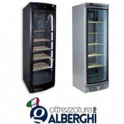 Vetrina refrigerata ventilata – Cantina vino 372 Lt. Temp +5°/+20°C Dim.cm 59.5x64x184h
