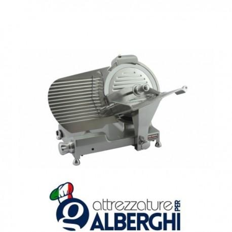 Affettatrice A Gravità Professionale Lama 30 Cm Affilatoio - Colore allinox BKL300L