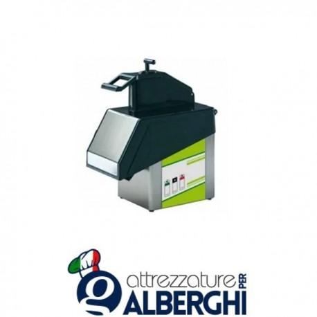 Tagliaverdure Elettrico Due Velocità in Acciaio Inox Da Tavolo 370W Professionale