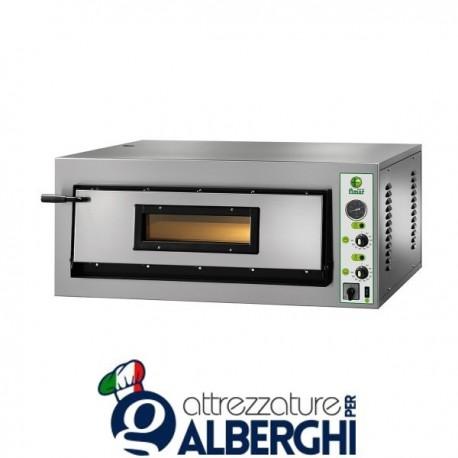 Forno Elettrico per Pizza con piano Refrattario 4200W Professionale