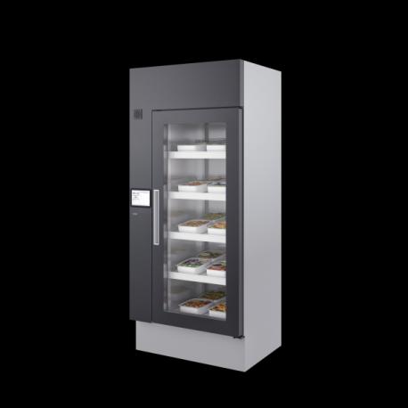 Armadio refrigerato con controllo accessi 700 lt porta cieca